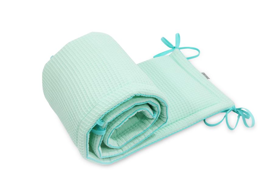 Ochraniacz do łóżeczka Cotton-waffel Opal